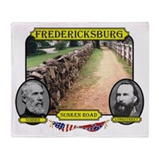 Fredericksburg-Sunken Road Throw Blanket