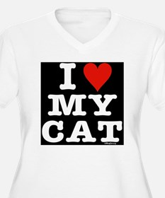 HeartMyCat10x10wh T-Shirt