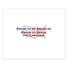 Proud American..Speak Posters