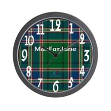 MacFarlane Clan Wall Clock