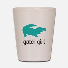 Gator Girl Shot Glass