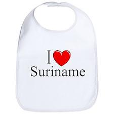 """""""I Love Suriname"""" Bib"""