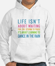 Cute Dancing in the rain Hoodie