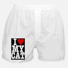 HeartCatLgPoster23x35 Boxer Shorts