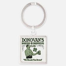 donovans club Square Keychain