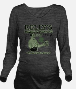 kellys club Long Sleeve Maternity T-Shirt