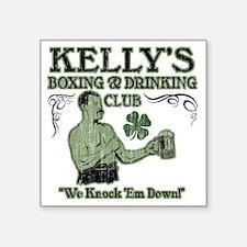"""kellys club Square Sticker 3"""" x 3"""""""