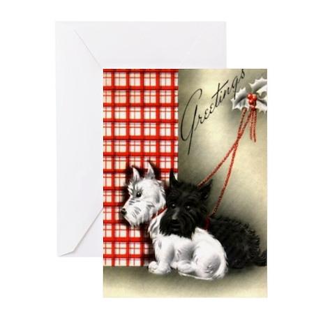 Vintage Christmas Greeting Cards (Pk of 10)