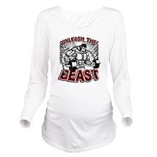 Unleash The Beast 2 Long Sleeve Maternity T-Shirt