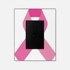 Single Pink Ribbon Picture Frame