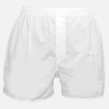 HSUVertical50WhiteTrans Boxer Shorts