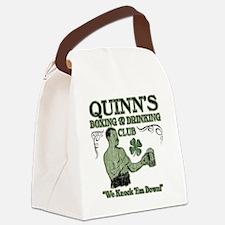 quinns club Canvas Lunch Bag