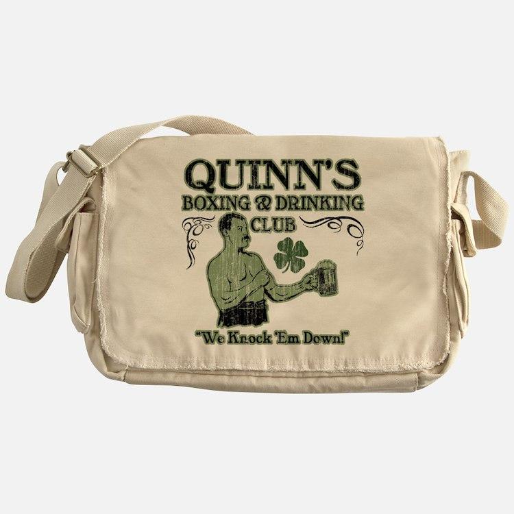 quinns club Messenger Bag