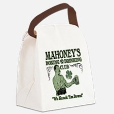 mahoneys club Canvas Lunch Bag