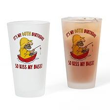 kissmybass60 Drinking Glass