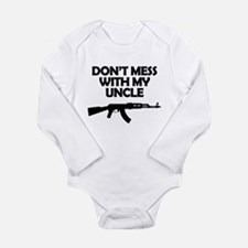 Dont Mess With My Uncle Body Suit
