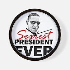 ART 2 Sexiest Obama Wall Clock
