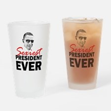 ART 2 Sexiest Obama Drinking Glass