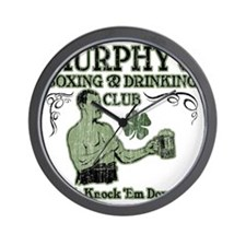 murphys club Wall Clock