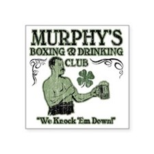 "murphys club Square Sticker 3"" x 3"""