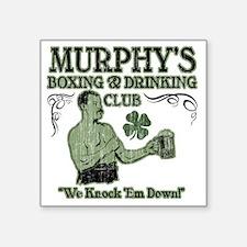 "murphys club Square Sticker 3"" x 3"""