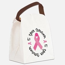 5 Year Survivor Canvas Lunch Bag