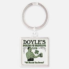 doyles club Square Keychain