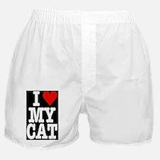 HeartCatBanner42x28 Boxer Shorts
