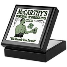 mccarthys club Keepsake Box
