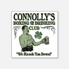 "connollys club Square Sticker 3"" x 3"""