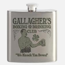 gallaghers club Flask
