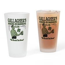gallaghers club Drinking Glass