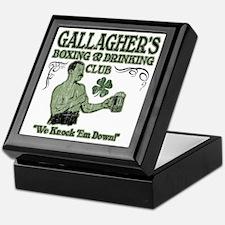 gallaghers club Keepsake Box