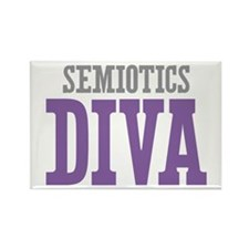 Semiotics DIVA Rectangle Magnet