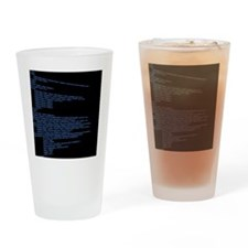 HTML Background Drinking Glass