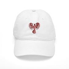 Large Red Phoenix Logo Baseball Baseball Cap