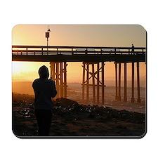 Photographer At Sunset Mousepad