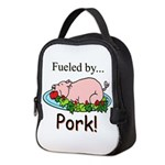 Fueled by Pork Neoprene Lunch Bag