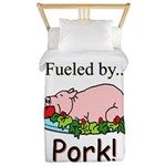Fueled by Pork Twin Duvet