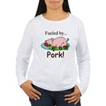 Fueled by Pork Women's Long Sleeve T-Shirt