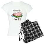 Fueled by Pork Women's Light Pajamas
