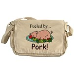 Fueled by Pork Messenger Bag