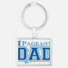 Pageant_dadbk Landscape Keychain
