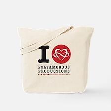I HEART POLYART Tote Bag