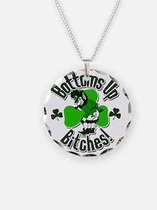bottomupb Necklace Circle Charm