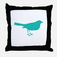 Cute Birdie Throw Pillow