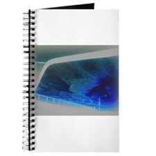 Monet Sky Modern in Rear View Mirror Journal