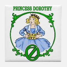 Princess Dorothy of Oz Tile Coaster