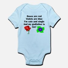 Cute And Single Godfather Poem Body Suit