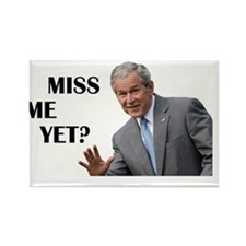 Bush - Do you Miss Me Yet? (oval) Rectangle Magnet